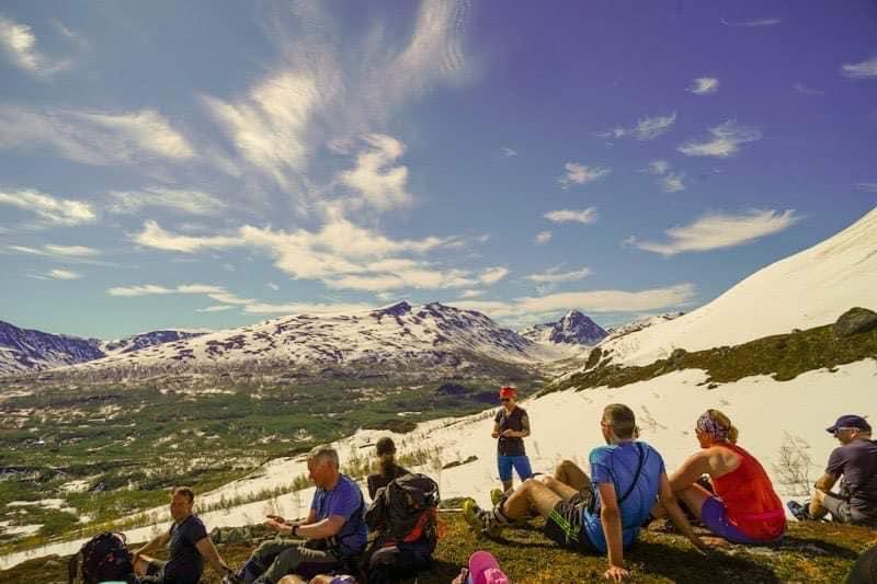 Siste skitur med fjellsportgruppa for sesongen.