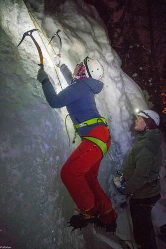 5. mars hadde DNT ung isklatring