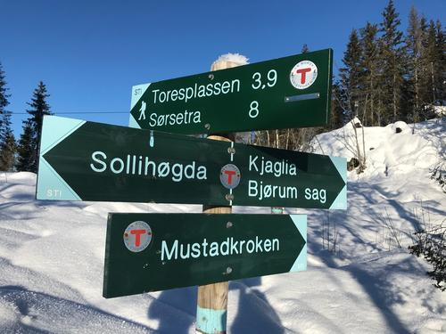 Start ved Sollihøgda