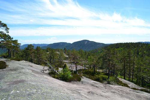 Utsikt fra Blåkollen