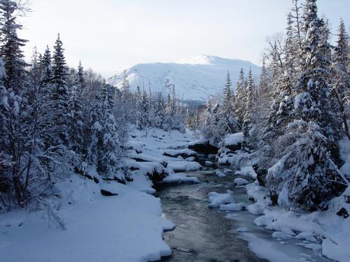 Is- og snøforhold i fjellet nå