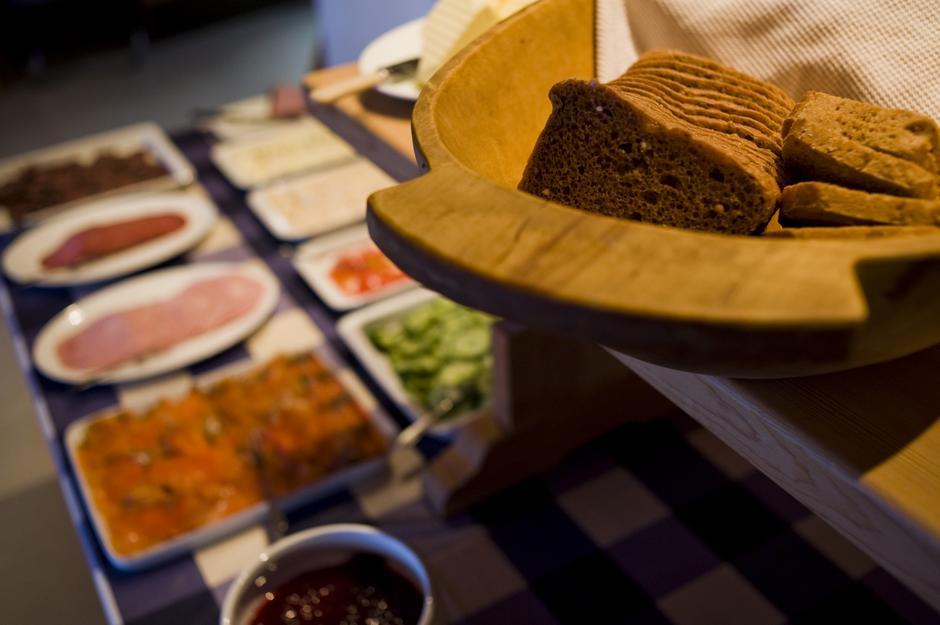 Deilig buffet på Geiterygghytta. foto: DNT Oslo og Omegn