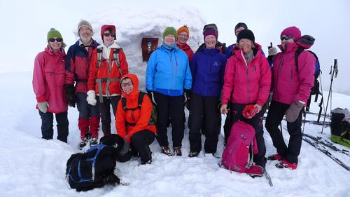 Store Haugmelen (1172 moh) søndag 28.februar