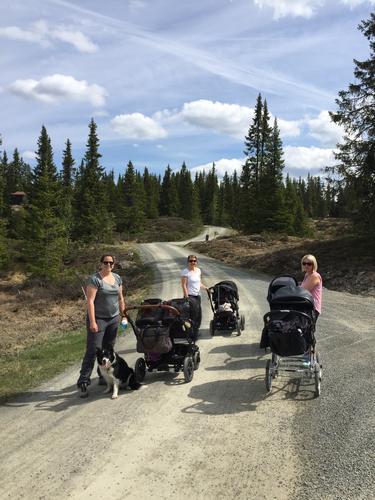 22. mai var det trilletur fra Nythun med Barnas Turlag