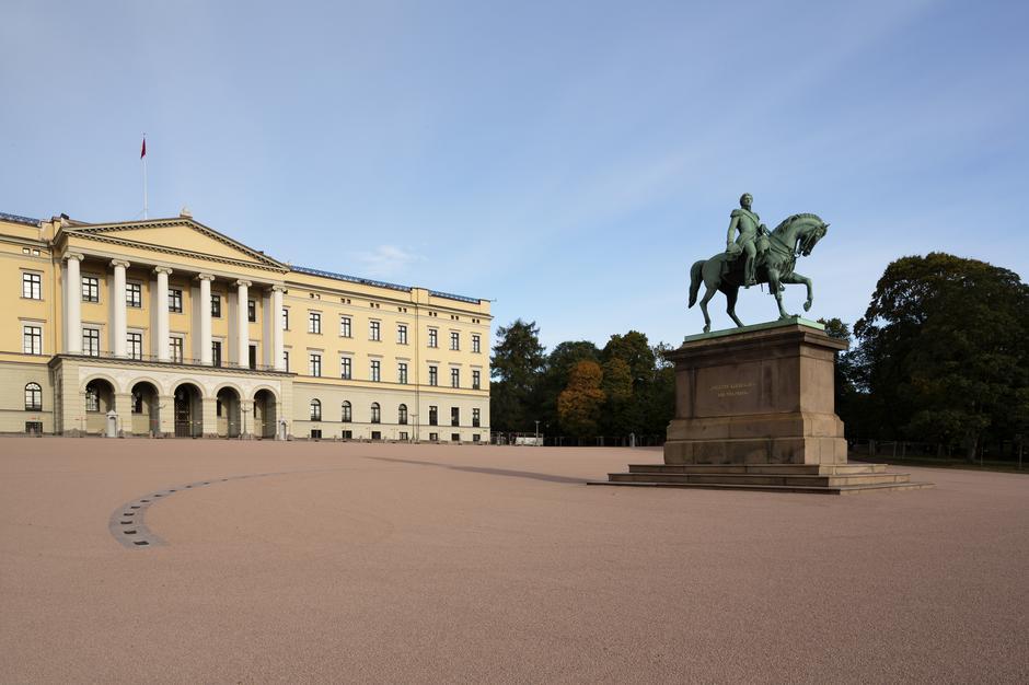 Slottsplassen i Oslo