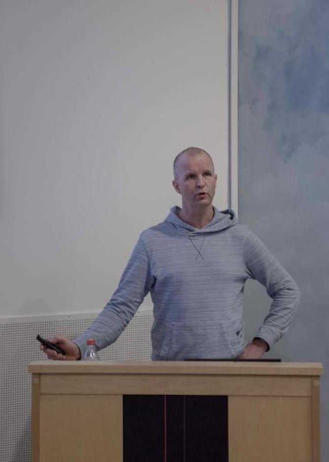 Kjetil Brattlien, skredekspert fra NGI