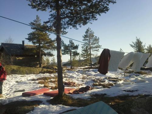 Vårdugnader på hyttene