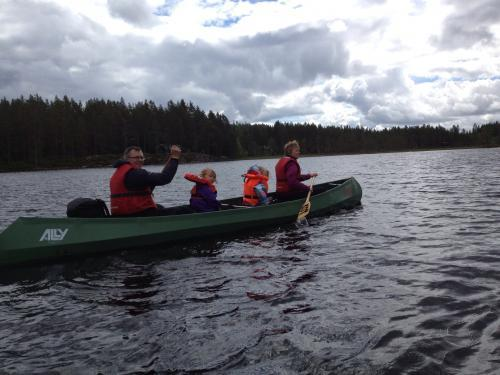 Kanotur Barnas Turlag Fjorda 2012