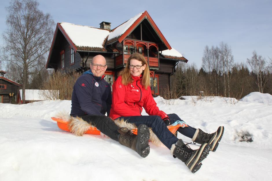 Ane Marte og Jan Kennet Gussiåa - Vertskap på Sæteren Gård