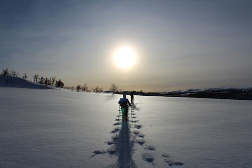 Vinterferietur i strålende sol i Stugudalen (Sylane)