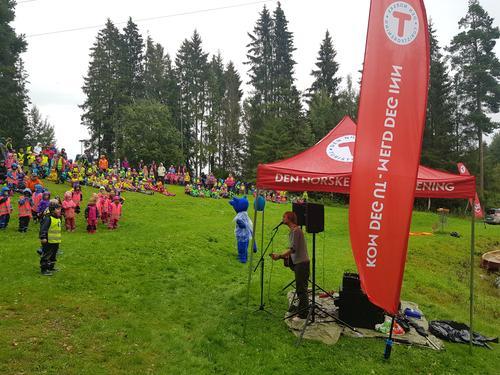 900 barn deltok på Turbotråkk