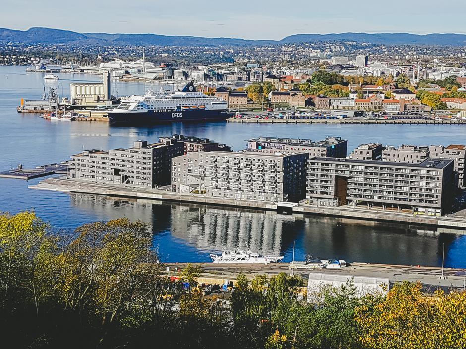 Utsikt over Oslofjorden