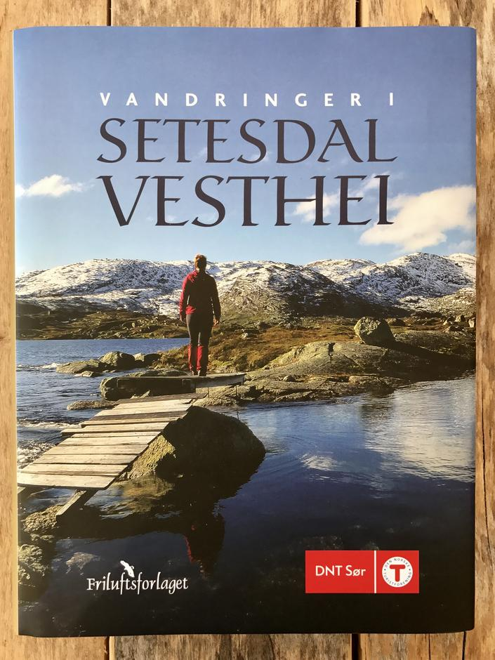 Vår nyreviderte bok: Vandringer i Setesdal Vesthei