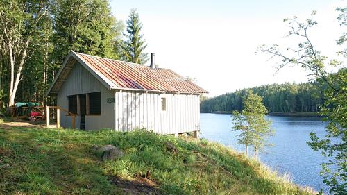 Ny Marka-hytte: Velkommen til åpning av Stallen