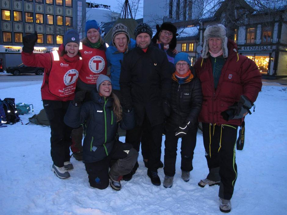 Troms Turlag var godt representert under åpningen av Friluftslivets År 2015.