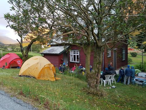 Campen i Uskedalen