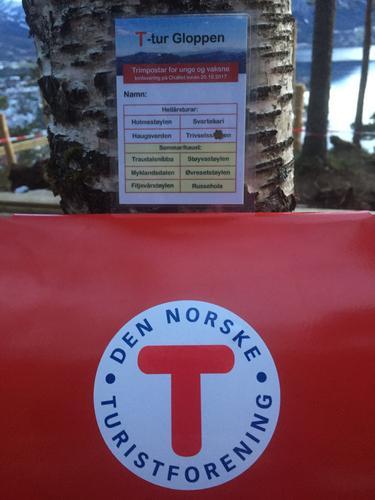 Til Topps - samarbeid mellom Gloppen Røde Kors og turlaget
