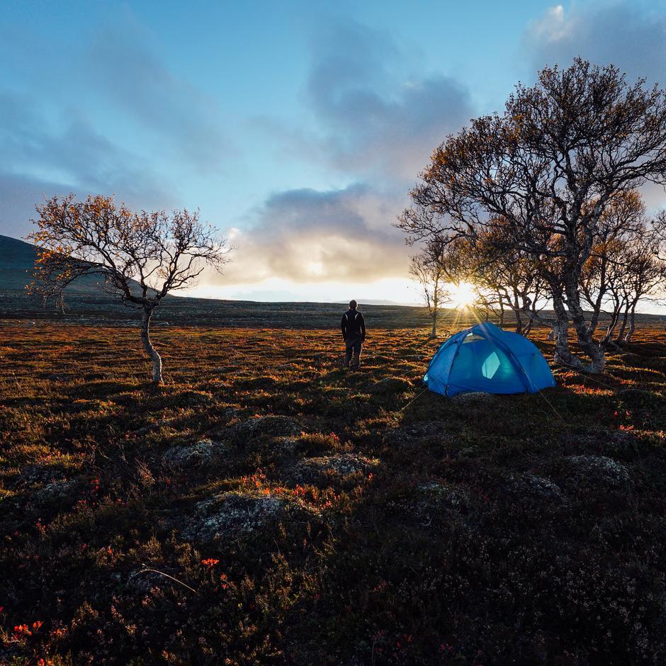 Morten Rustad har laga naturfilm med bruk av teknikken timelapse.