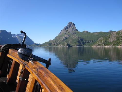 Trollfjordturen Brødrene på tur inn Sløverfjorden 25.07.10