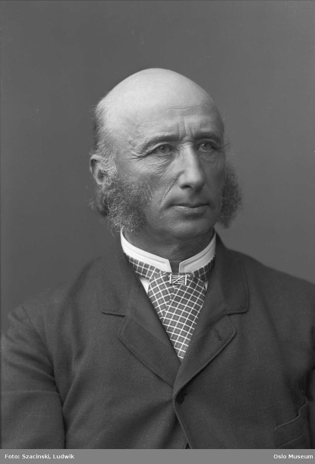 VEIVISER: Thomas Heftye - DNTs grunnlegger og en pionér på en rekke samfunnsområder.