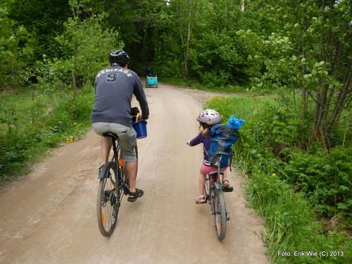 Fra Sykkeltur med Barnas Turlag