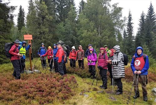 veteranan Innherred Turlag  startet høstsesongen med tur til Mælesvollen
