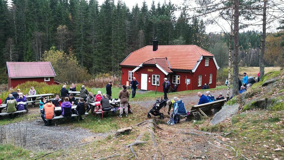 Ruslær'n til Eikedalen 15.10.17
