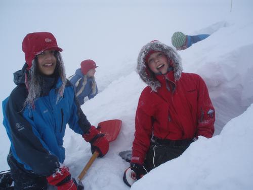 Snøhuletur