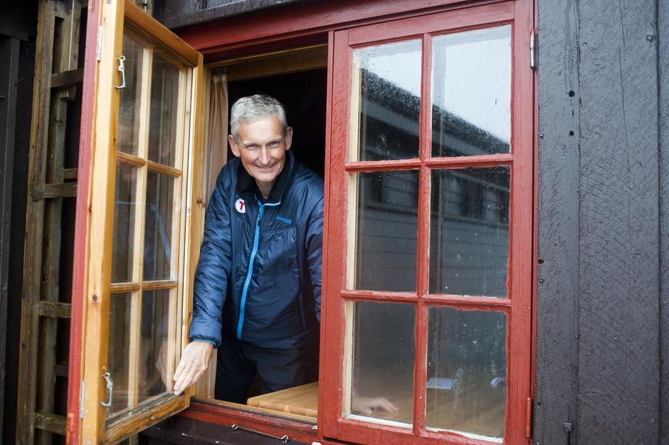 Generalsekretær Nils Øveraas i DNT gleder seg over stor interesse for friluftsliv og DNTs hytter.