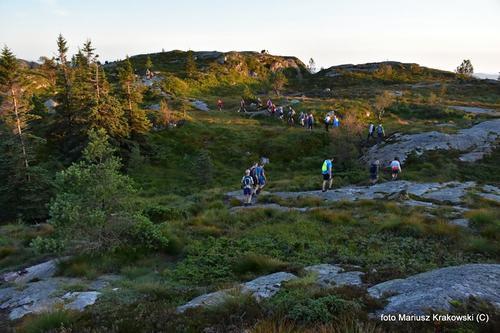Ned fra Sandviksfjellet