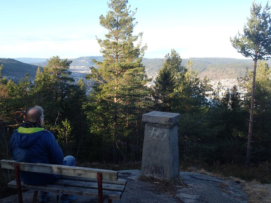 Utsikt fra Nordbykollen