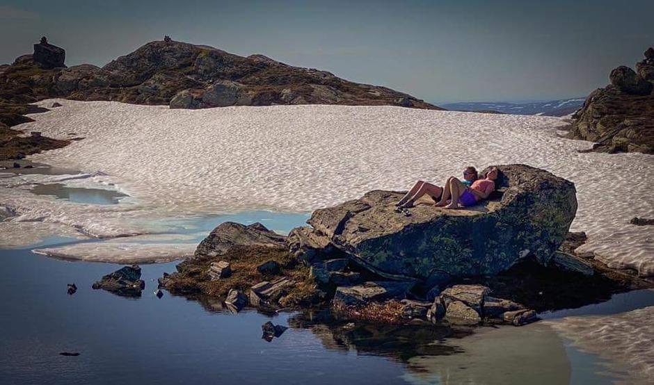 Eksklusiv solstol på Fjordruta