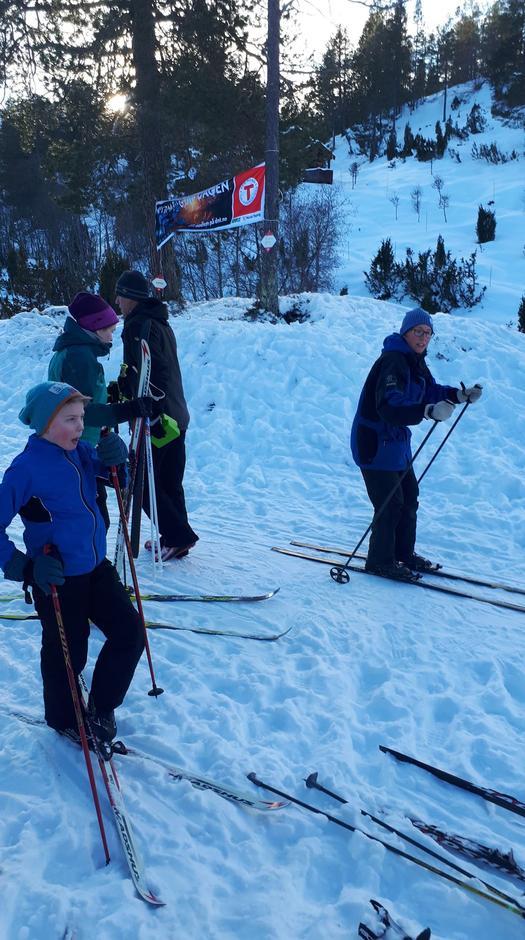 Ski karusell