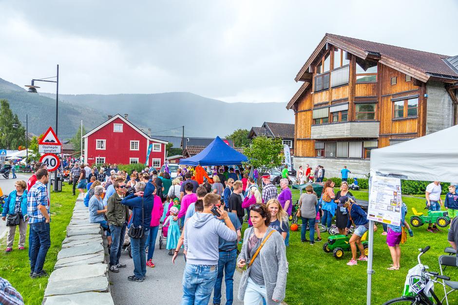 DET GODE LIV: Gjendesheim ligger i fjellkommunen Vågå - hvor dagliglivet leves i et levende og aktivt sentrum omgitt av fem nasjonalparker.