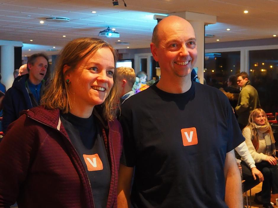 Marit Svarstad Andresen og Christer Lundberg Nes