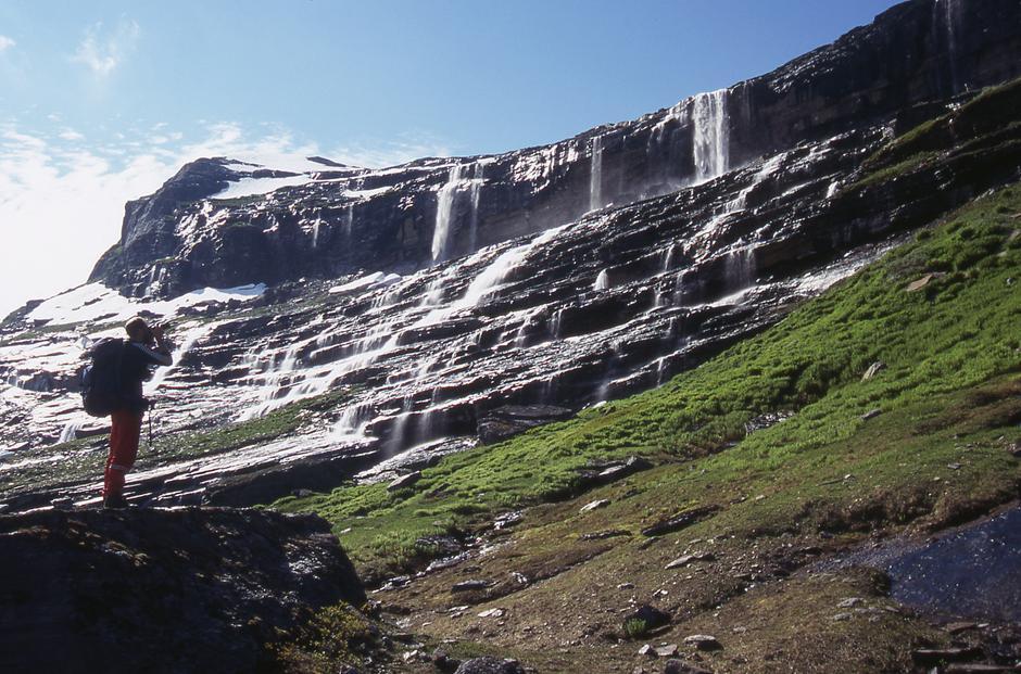 Fossen ved Blåvatnhytta