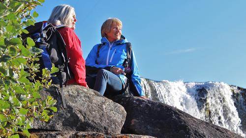 Seniortur i Skarvheimen, Geiterygghytta