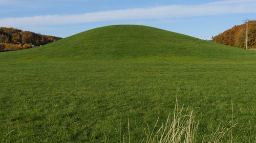 Gokstadhaugen, hvor det kjente Gokstadskipet fra vikingtiden er gravd ut