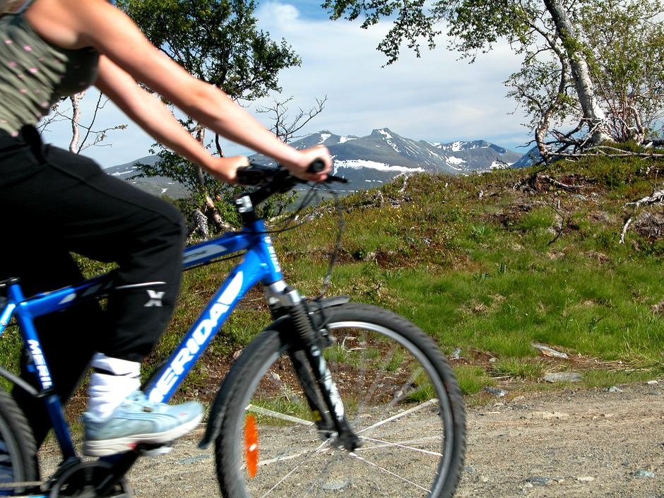 Disse sykkelturene går i hovedsak på grusveier 7-900 moh.
