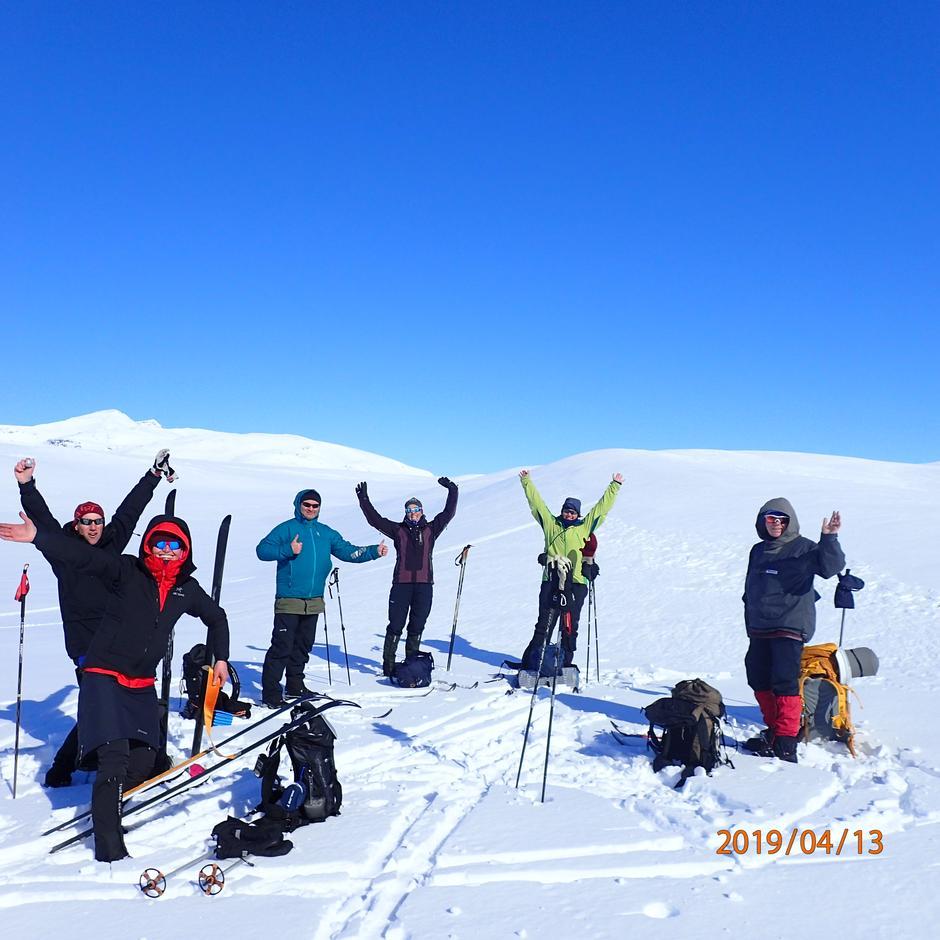 deltakere vintertur