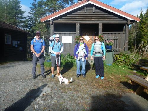 Meisetur til Brunkollen med Bærum Turlag høsten 2016