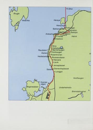 Kart Postvegen