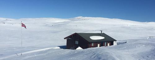 Våre hytter er fortsatt stengte