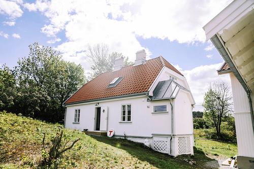 Gressholmen, Babord hytta