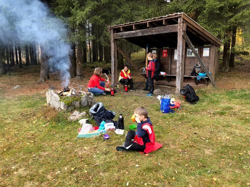 14. oktober hadde Barnas Turlag tur til Vavika