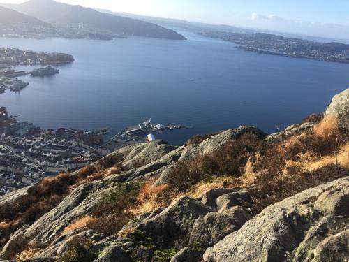 Utsikt fra Sandvikspilen
