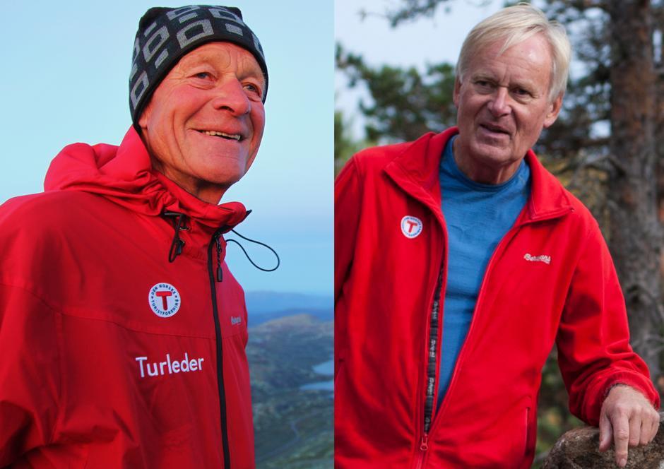 Jon Ingebretsen til venstre og Åsmund Myhre til høyre.