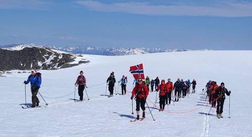 Gjegnen - årets topptur på ski
