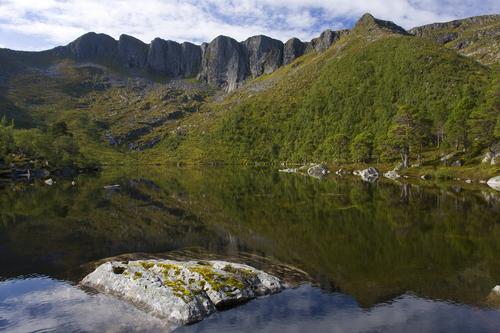 Fjordruta. Nonshaugvatnet ved Gulsteinvollen