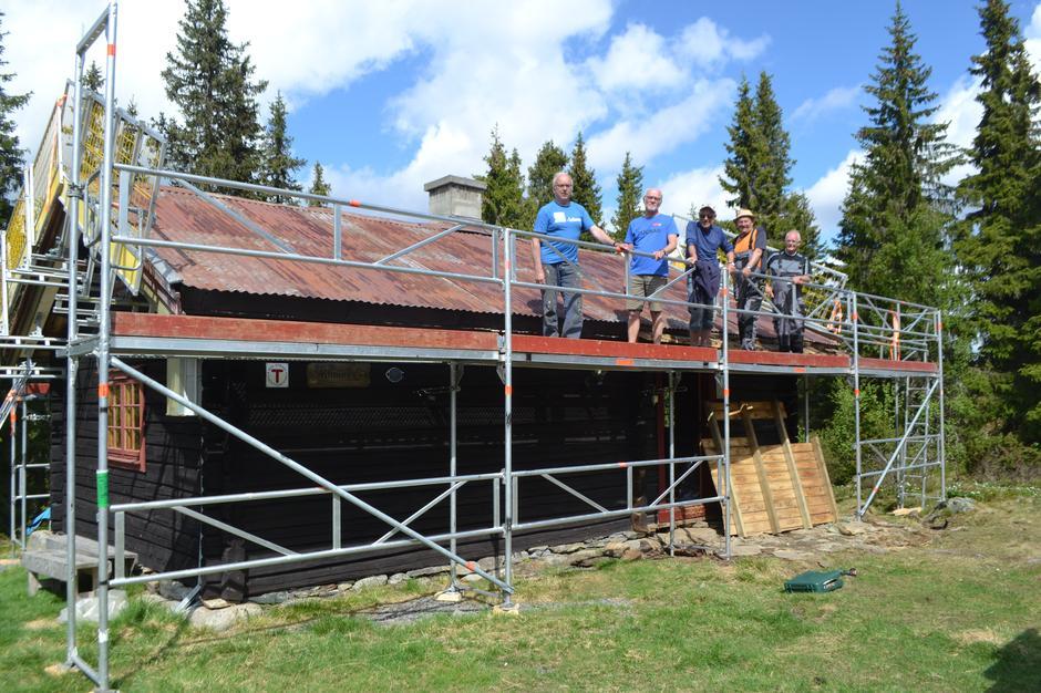 DNT Lillehammers hytte, Kittilbua, er klar for en standardheving